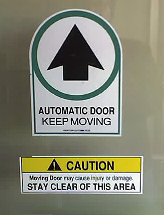 Stupid Door Signs